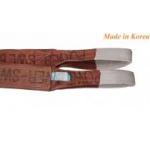 Dây cáp vải Hàn Quốc 6 tấn, cáp vải tròn/dẹt cẩu hàng