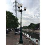 Cột đèn cao áp chiếu sáng đường phố,đèn sân vườn