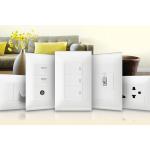 Thiết bị chiếu sáng và ổ cắm điện dân dụng hiện đại