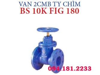 VAN 2CMB TY CHÌM BS 10K FIG 180