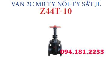 VAN 2C MB TY NỔI-TY SẮT JL Z44T-10