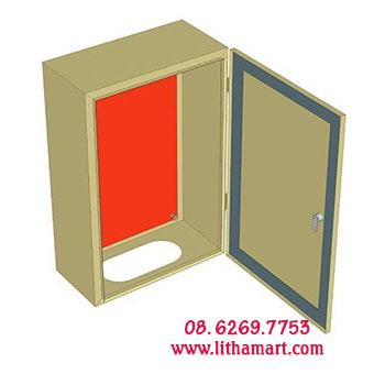 Vỏ tủ điện H600xW400xD210xT1,5mm