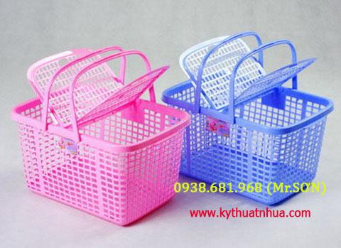 Giỏ nhựa đựng đồ | Giỏ nhựa đựng đồ cho bé | Làn nhựa đựng đồ sơ sinh