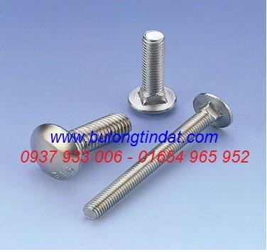 Bulong đầu tròn cổ vuông - DIN603