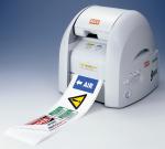 Máy in và cắt nhãn Plastic CPM-100E