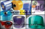 Màn nhựa PVC - Rèm nhựa PVC ngăn lạnh, cản bụi bẩn, chống côn trùng