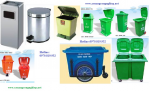 Thùng rác, thùng rác dung tích lớn,Thùng nhựa