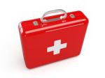 first aid kit (dụng cụ sơ cứu cho tàu)