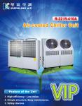 Máy chiller - Gió giải nhiệt