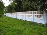 Hàng rào bê tông đúc sẵn