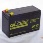 ắc quy kín khí (AGM VRLA) Globe 12V-7.5Ah