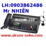 máy fax  dùng sim di động alcom-218 ,MODEM FAX GSM ERICSSON