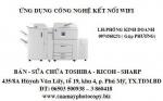 Máy photocopy sử dụng công nghệ kết nối