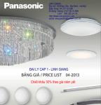 Catalog thiết bị điện Panasonic