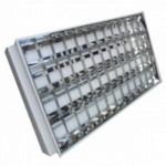 Bộ máng đèn âm trần huỳnh quang 3 bóng