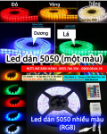 Siu r Led dy dn smd 5050 mu trng m gi 220.000