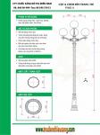 Trụ đèn sân vườn