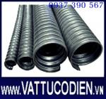 Ống thép luồn dây điện mềm nhúng nóng /  Flexible Steel conduit (Hot-dip-galvanized-Anti rust used indoor/outdoor)