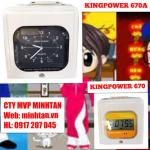 bán máy bấm giờ thẻ giấy kingpower 670