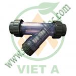 ystrainer PVC, y lọc trên đường ống, y lọc nhựa