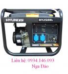Máy phát điện Hyundai HY2500LE khởi động đề - Chạy xăng