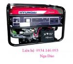 Máy phát điện Hyundai HY11000LE khởi động đề