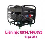 Máy phát điện Hyundai HY12000LE khởi động đề - Chạy xăng