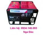 Máy phát điện Hyundai HY14000LE khởi động đề - Chạy xăng