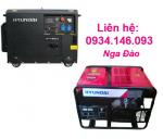 Máy phát điện Hyundai DHY14000LE-3 3 pha, chạy xăng, khởi động đề