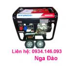 Máy phát điện Hyundai DHY15000SE chạy dầu 1PHA