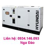 Máy phát điện chạy dầu Hyndai  DHY18KSEm