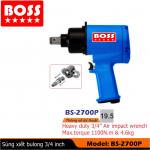 Súng vặn bulong 3/4inch BOSS BS-2700P