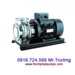 Máy bơm ngang TS - Máy bơm trục ngang model TS - SPCO