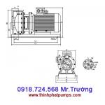 Bơm nước ly tâm trục ngang SPCO-TS65-40