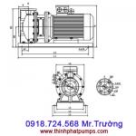 Bơm ly tâm trục ngang Spco TS80-65