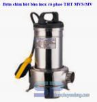 Bơm chìm hút bùn inox MVS20-1 2HP