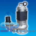 Bơm chìm hút nước thải inox NTP SSM280-11.5 20 2HP