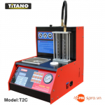 Máy súc rửa kim phun - Béc phun kim xăng điện tử Titano T2C