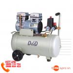 Máy nén khí mini không dầu 24 lít không ồn,dùng trong nha khoa