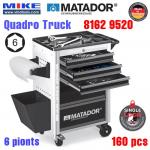 Tủ đồ nghề cao cấp 6 ngăn QUADRO Truck - 8162 9520