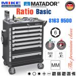 Tủ đồ nghề cao cấp 7 ngăn RATIO Basic - 8163 9500