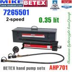 Bộ bơm tay thủy lực Bega - Betex AHP701 SET