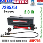 Bộ bơm tay thủy lực Bega - Betex AHP703 SET