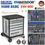 Tủ đồ nghề cao cấp 6 ngăn VARIO Basic - 8164 9501