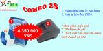 Bộ sản phẩm thiết bị và phần mềm bán hàng siêu rẻ 2S