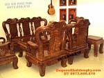 Bàn ghế gỗ ngọc nghiến quốc hồng vai 12 QH73