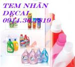 Chuyên Bán Màng co,In Màng co, nhãn chai, Tem, Decal giá Rẻ tại Hà Nội