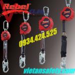 Dây an toàn toàn thân Adela HS-4538E với dây chống rơi giảm sốc loại 01 móc 0912280989/0862970118