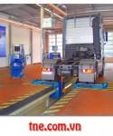 Thiết bị kiểm tra phanh cho xe có tải trọng cầu 13 tấn
