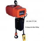 Pa lăng xích điện 500 kg